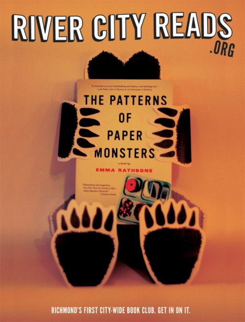 River City Reads The Patterns of Paper Monsters